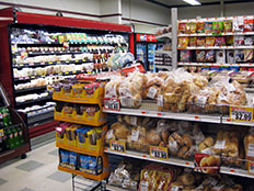 Maine Grocery Store, Tozier's Family Market located in Searsport